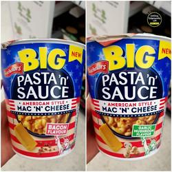 Batchelors Pasta n Sauce American Style.