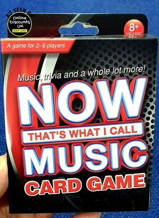 NOW That's What I Call Music Card Game.j