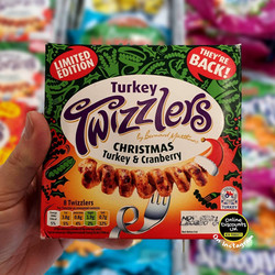 Limited Edition Turkey Twizzlers Christm