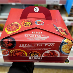 Bodega Tapas for Two Takeaway Box
