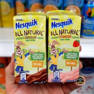 Nesquick All Natural Milkshake Cartons.j
