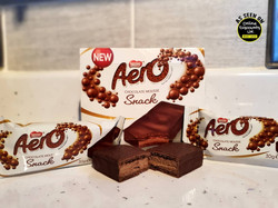 Aero Chocolate Mousse Snacks Bars