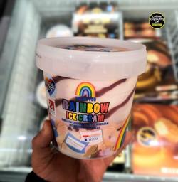 Aldi Rainbow Ice Cream
