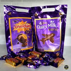 Cadbury Crunchie and Dairy Milk Travel E