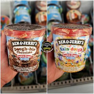 Ben & Jerry's Cookie Dough Twists Ice Cr