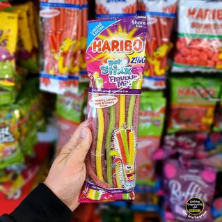 Limited Edition Haribo Balla Stixx Zing.