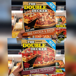 Iceland The Double Decker Pizza Range.jp