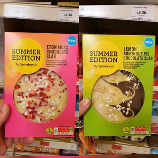 Sainsburys Summer Edition Chocolate Slab