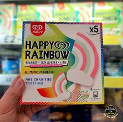 Wall's Happy Rainbow Ice Creams