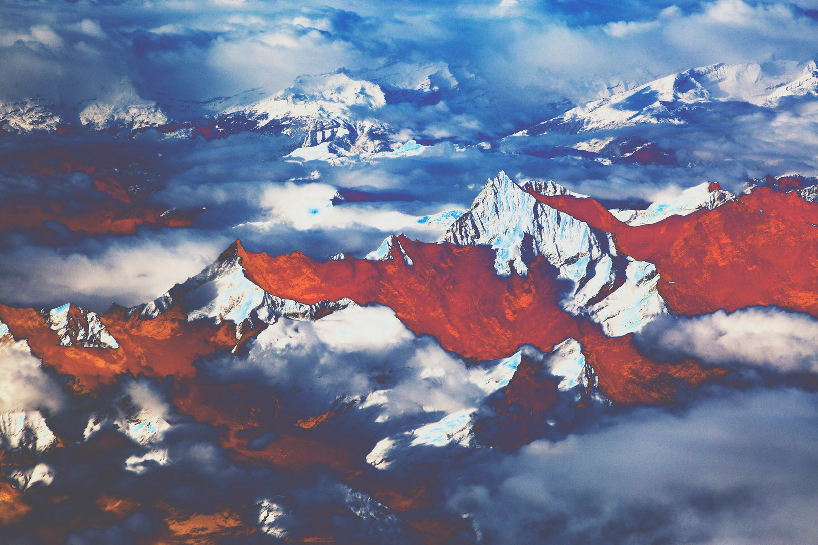 Polluted Mountains VIIII