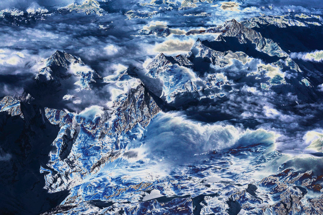 Polluted Mountains I