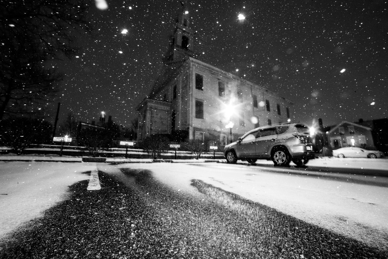 NEW BEDFORD SNOW STORM