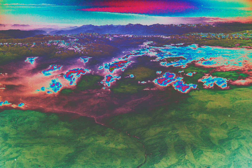Polluted Mountains VI