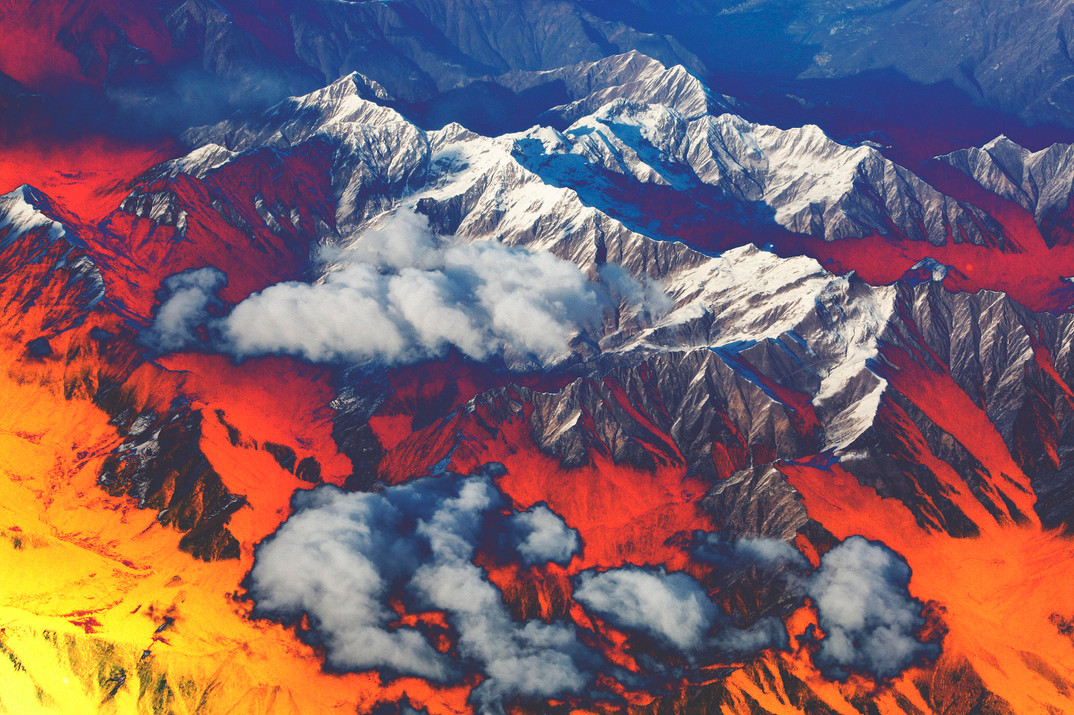 Polluted Mountains V