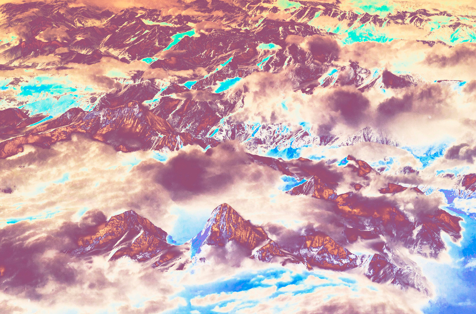 Polluted Mountains IV