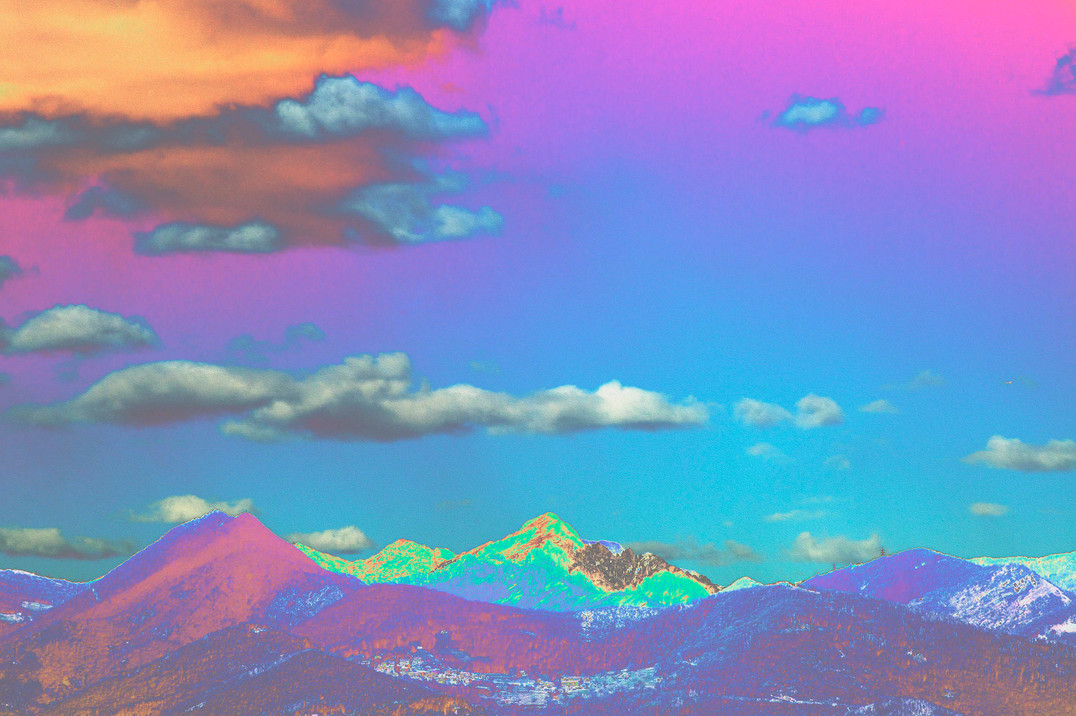 Polluted Mountains VII
