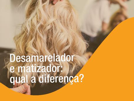 Desamarelador e matizador: Qual a diferença?
