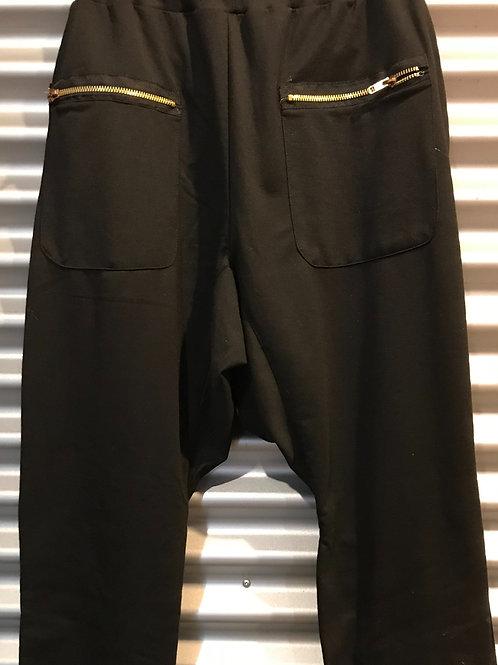 Pantalon baggy adulte noir