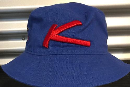 Chapeau pêcheur bleu