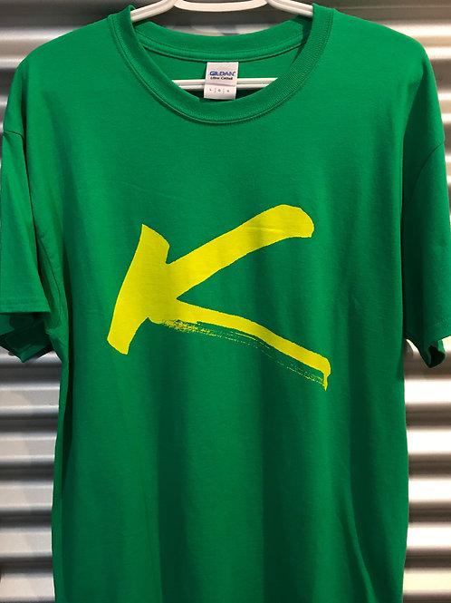 T-shirt adulte K, vert