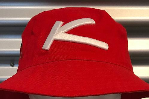 Chapeau pêcheur rouge