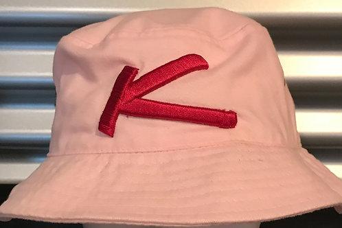 Chapeau pêcheur rose pâle