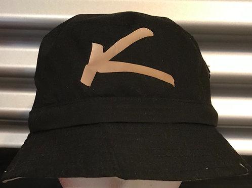 Chapeau pêcheur toile noire