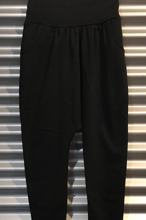 Pantalon baggy adulte coton noir