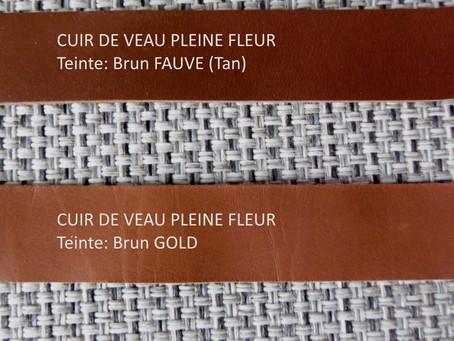 Comment  obtenir les teintes « Brun Gold » et « Brun Fauve »