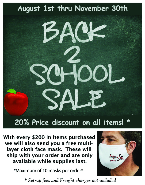 Back 2 School 20% Sale