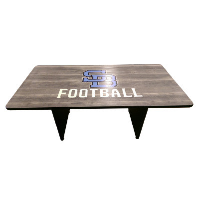 Conference Table X Rect Shape School Logo Furniture Home - Conference table football