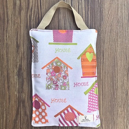 "Bouillotte sèche rectangulaire ""SWEET HOME"""