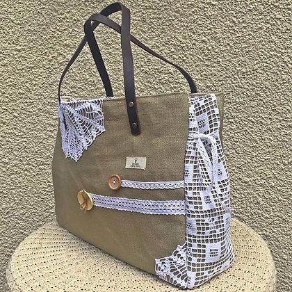"""Grand sac cabas """"ESPRIT SHABBY #2"""""""