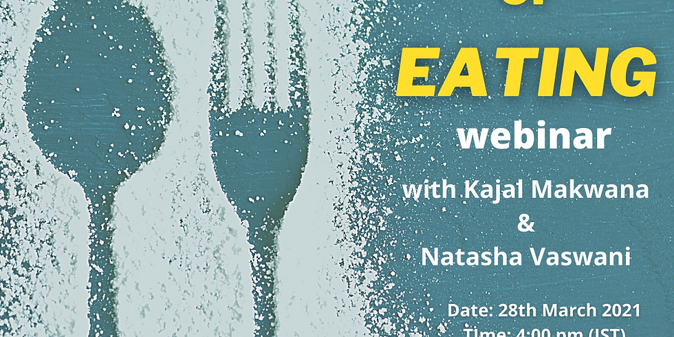 Tapping Into Your Life Webinar Series: The Art Of Eating