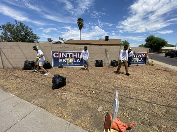 CINTHIA IS FOR STRONG NEIGHBORHOODS