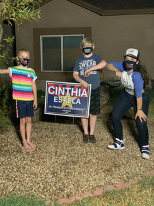 CINTHIA IS FOR THE FUTURE