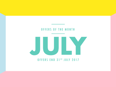JULY - OPENING OFFERS HALF PRICE TREATMENTS