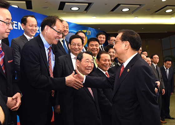Premier Li Keqiang Met with  Howard Li at 2016 Boao Forum