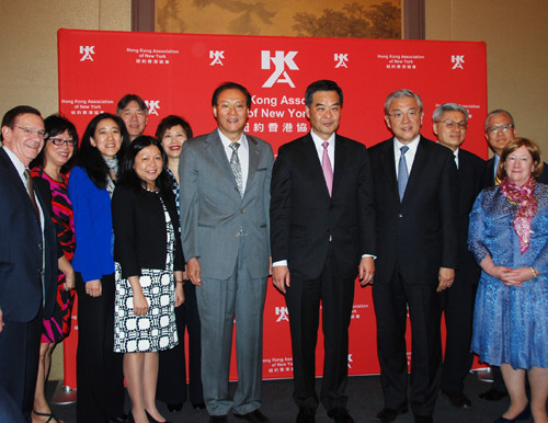 Mr. Howard Li Met Mr. CY Leung