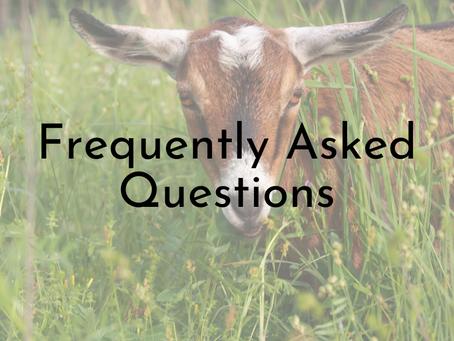 FAQ - Hefty Goat Holler Farm