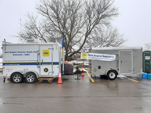 Communications Trailers (YRARC and DNARC)