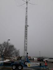 Rasing thr tower to height