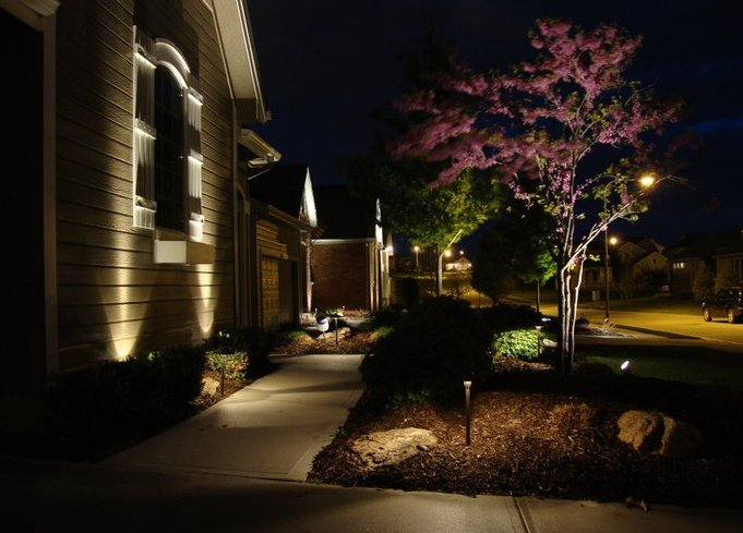 Outdoor landscape & accent lighting