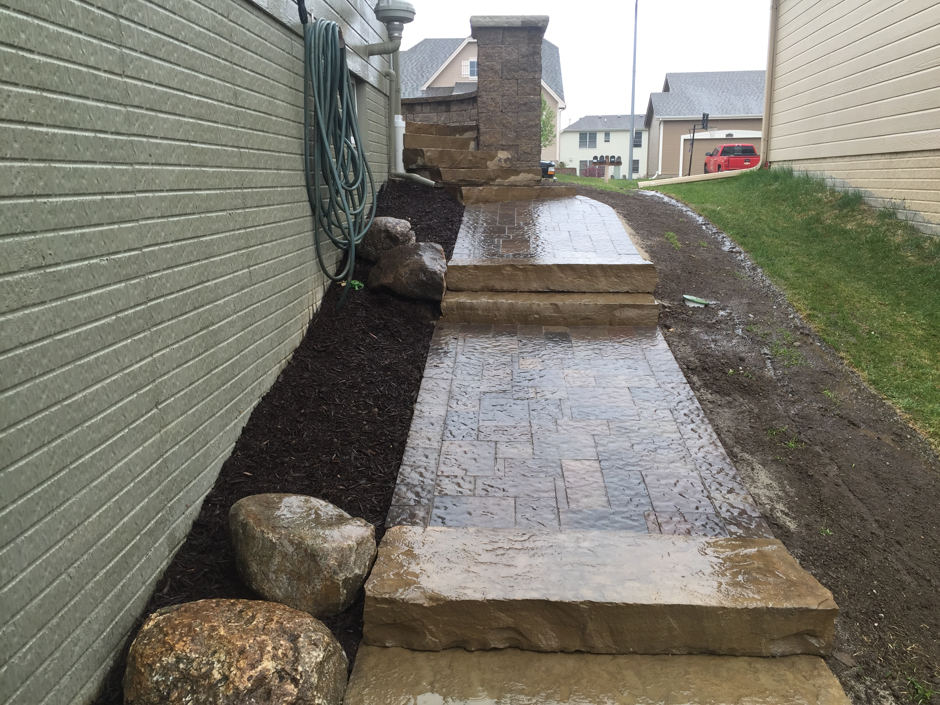 Paver Patio and Walkways
