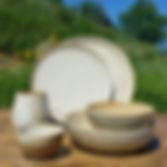 handmade dish set