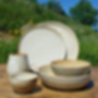 handmade dishes