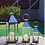 Thumbnail: Chrome Windproof Lanterns Set of 3