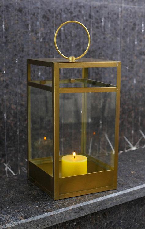 Festive Home Gold Lantern