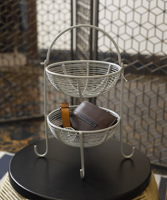 Dubbele Mand Basket Stand