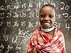 Números de Aprendizagem criança na escol